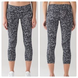 Lululemon Wunder Under Crop Legging Tight
